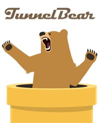 Cool TunnelBear Logo and Identity