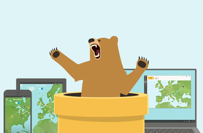 TunnelBear VPN is one of the most popular free (freemium) VPN services