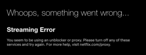Hola Free VPN for Chrome doesn't unblock Netflix