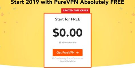 PureVPN Offers a Premium Subscription for Free. What's the Catch?