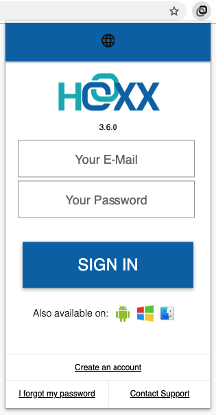 Hoxx VPN Account Creation